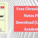 Read more about the article Free Chronicle IAS Notes PDF Download [IAS 100 Academy]