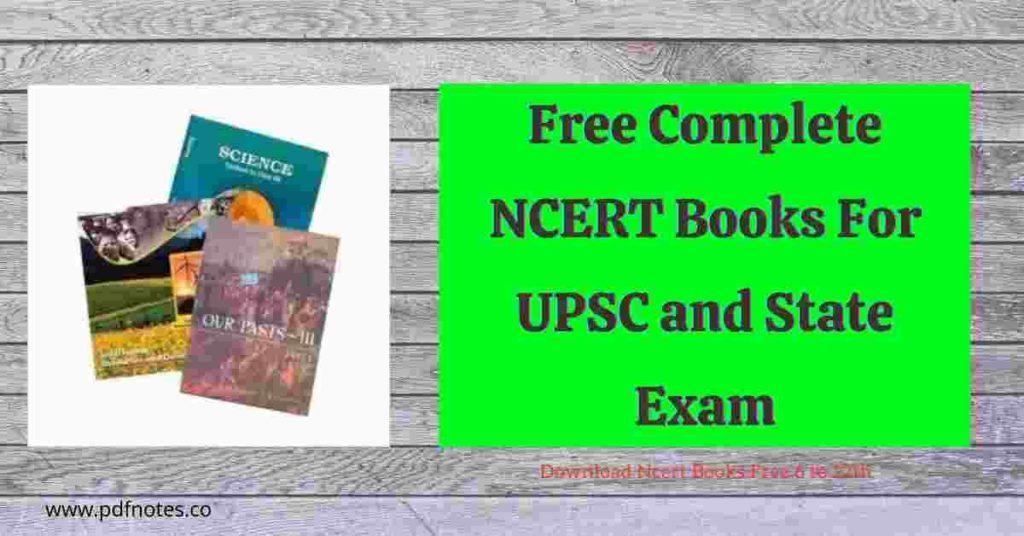 New NCERT Sociology Books for UPSC 2021 PDF [ncert.nic.in]