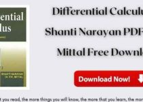 Differential Calculus by Shanti Narayan PDF & PK Mittal Free Download