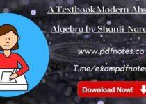 Download Modern Abstract Algebra by Shanti Narayan Pdf