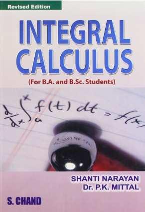 Integral Calculus Book by Shanti Narayan PDF