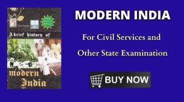 MODERN INDIA HISTORY