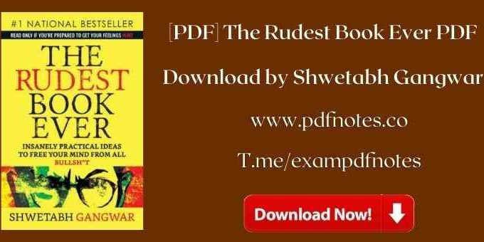 The Rudest Book Ever PDF Download by Shwetabh Gangwar