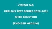 vision ias prelims test series 2020 pdf 2021