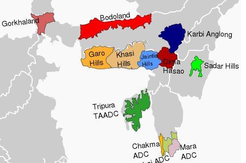 Autonomous administrative divisions