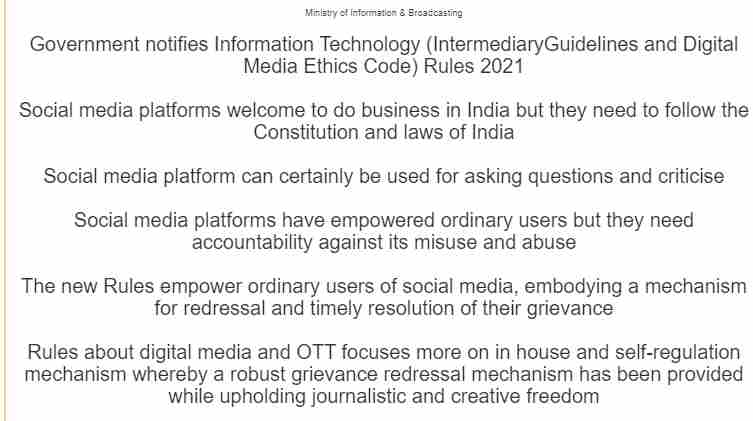 You are currently viewing [PDF] Government's Guidelines on Social Media Platform Rules & Regulation PDF Download