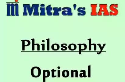 Mitra IAS Philosophy Notes PDF for UPSC Optional
