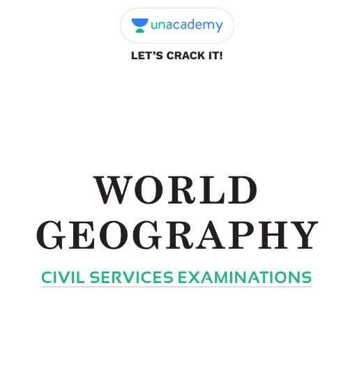 Unacademy World Geography Notes