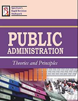 Public Administration Theories and Principles PDF