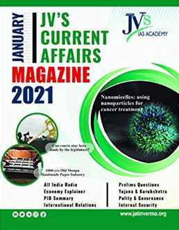 JV's Current Affairs Magazine for UPSC CSE January 2021