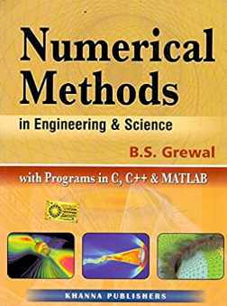 You are currently viewing [PDF] Numerical Methods in Engineering & Science with Programs in C, C++ & MATLAB by B. S. Grewal Book Free Download