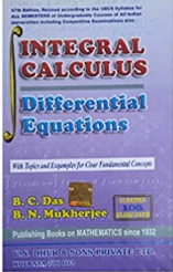 Integral Calculus Differential Equations By Das And Mukherjee Pdf Book Free Download