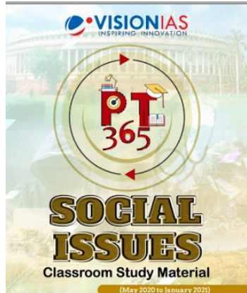 Vision IAS PT 365 2021 Social Issues