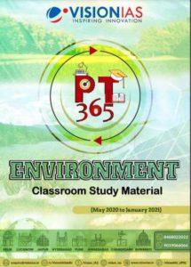 Vision IAS PT 365 2021 Environment