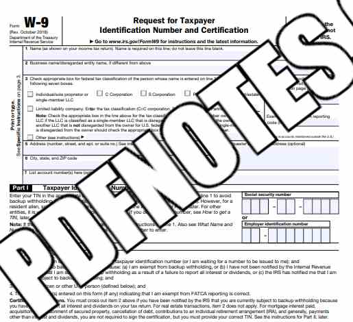 You are currently viewing W9 Tax Form 2021 PDF Download