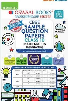 Oswaal CBSE Sample Question Paper Class 10 Mathematics Standard Book
