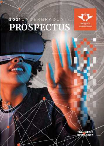 You are currently viewing UJ Undergraduate Prospectus 2021 PDF Download