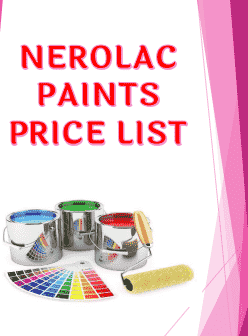 You are currently viewing Nerolac Paints Price List 2021 PDF