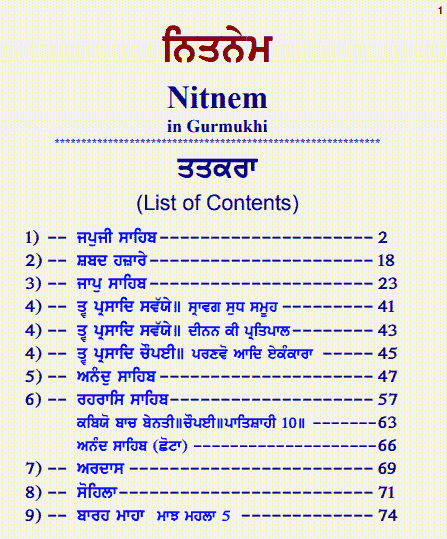 You are currently viewing Nitnem PDF Download in Punjabi