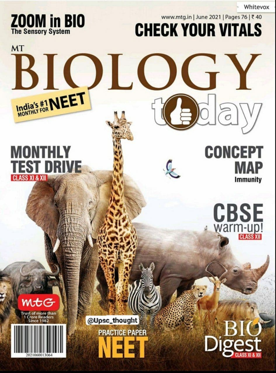 You are currently viewing Biology Today Magazine June 2021