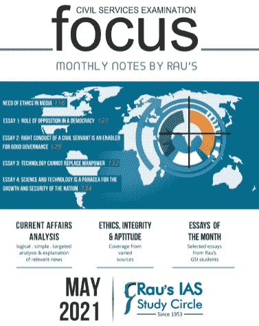 You are currently viewing Raus IAS Focus Magazine May 2021 PDF