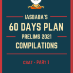 Read more about the article IAS BABA 60 Days Plan Prelims 2021 CSAT PDF