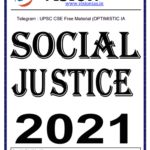 Read more about the article Vision IAS Social Justice Notes 2021