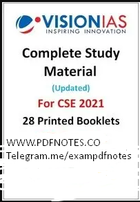 You are currently viewing Vision IAS Notes 2021 PDF [Official Printed Notes]
