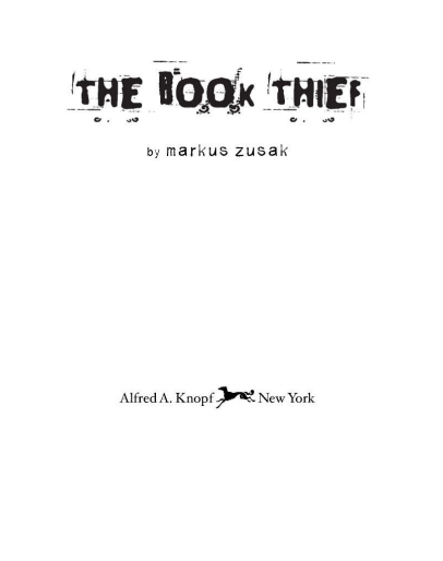 Read more about the article The Book Thief PDF