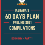 Read more about the article IAS BABA 60 Days Plan Prelims 2021 Economy PDF