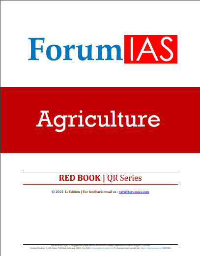 Read more about the article Forum IAS Agriculture Red Book UPSC PDF